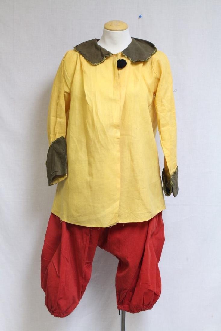 Vintage 1920s Clown Costume