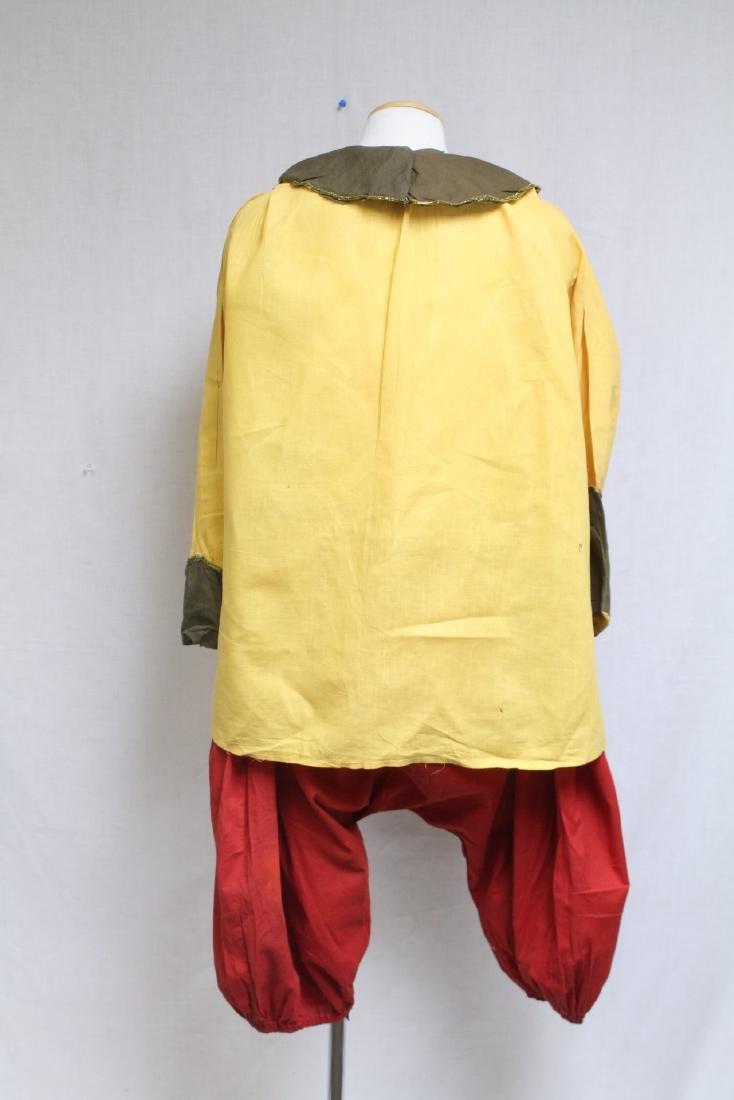 Vintage 1920s Clown Costume - 4