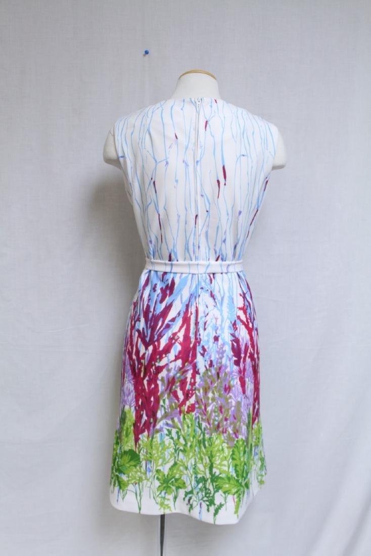 Vintage 1960s Floral Print Shift Dress - 4