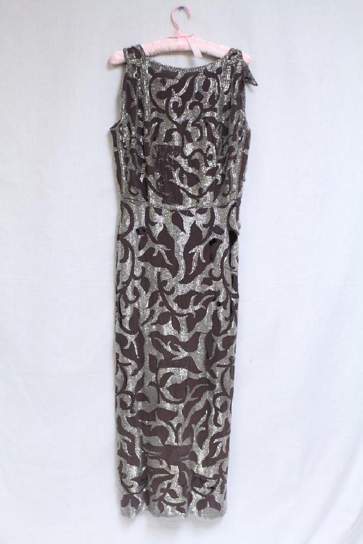 Vintage 1930s Beaded Evening Gown