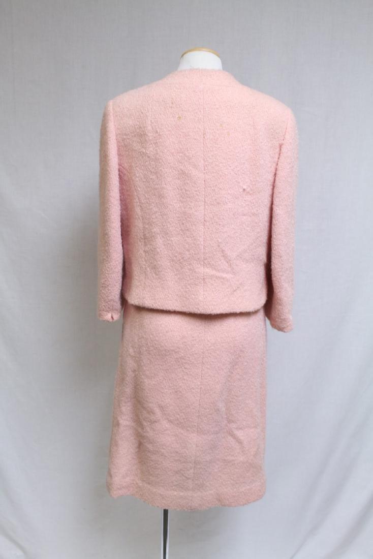 Vintage 1960s Pink Boucle Best & Co Suit - 3