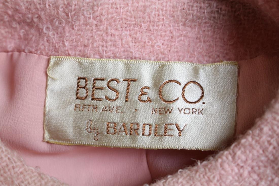 Vintage 1960s Pink Boucle Best & Co Suit - 5