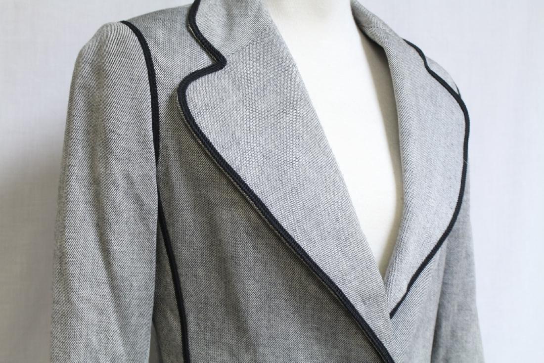 Vintage 1970's Black & Grey Blazer - 3