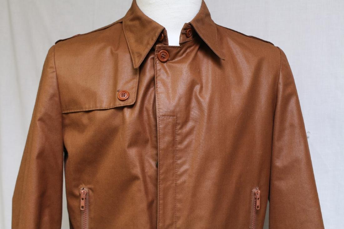 Vintage 1970s Men's London Fog Brown Jacket - 2