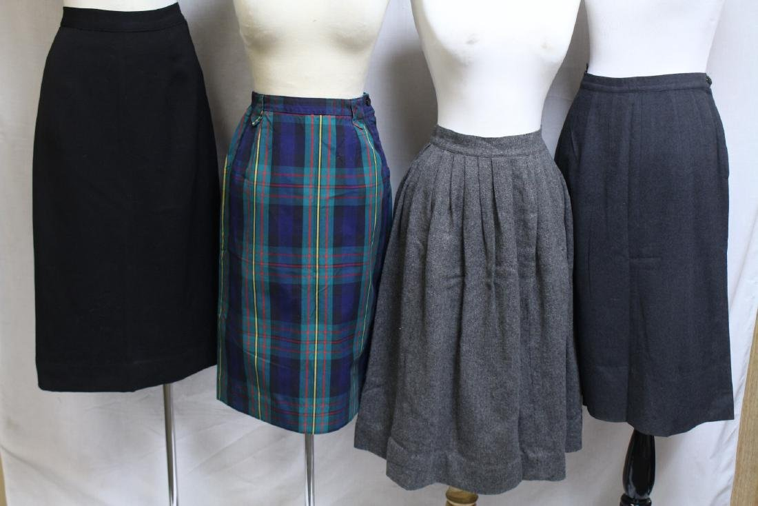 Vintage Lot of 4 1950s Skirts