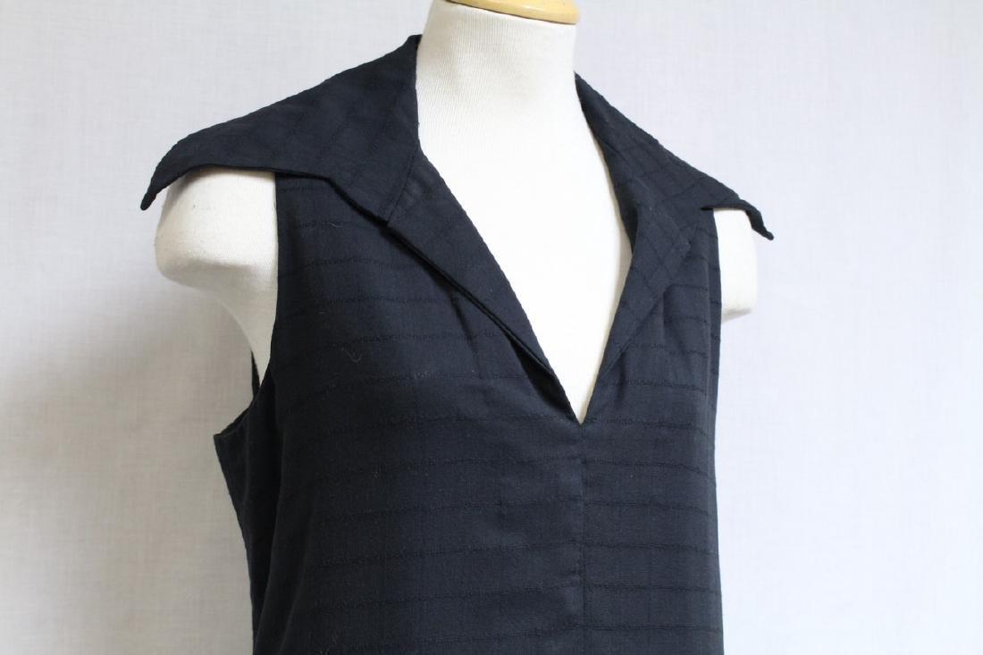 Vintage 1970s Black Maxi Dress - 2