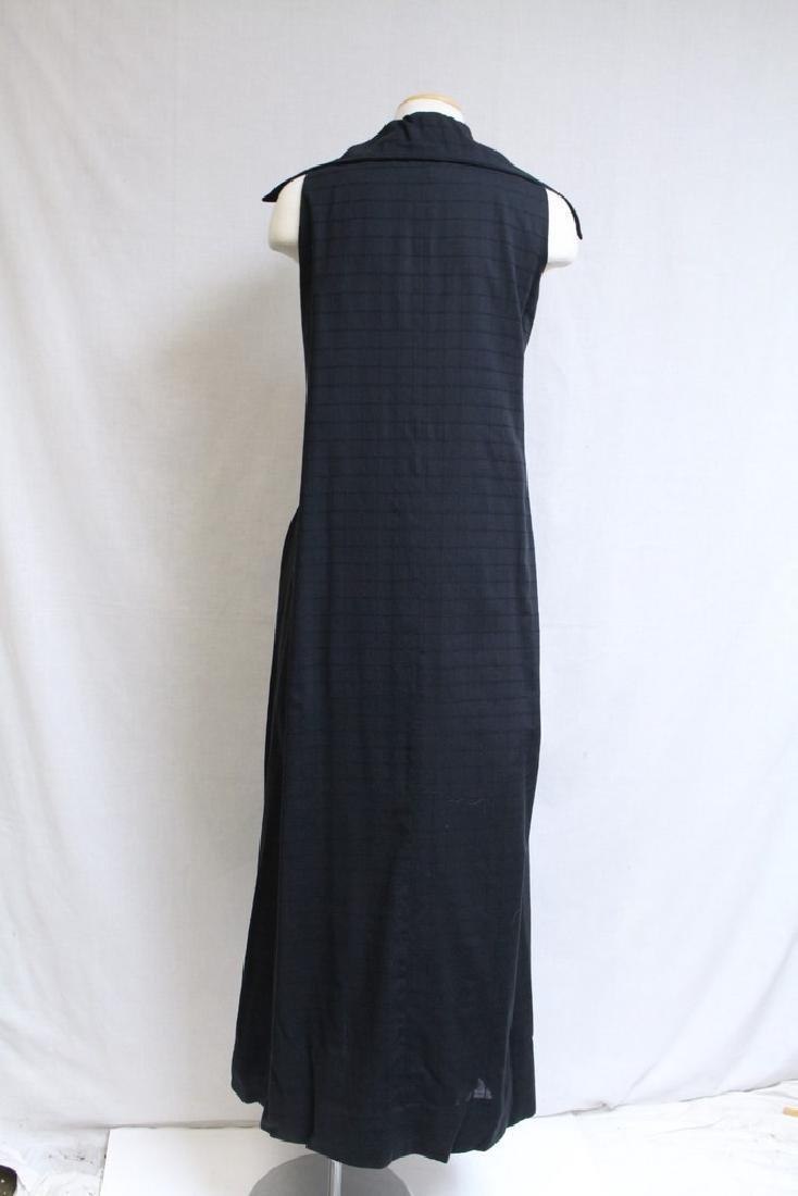Vintage 1970s Black Maxi Dress - 3