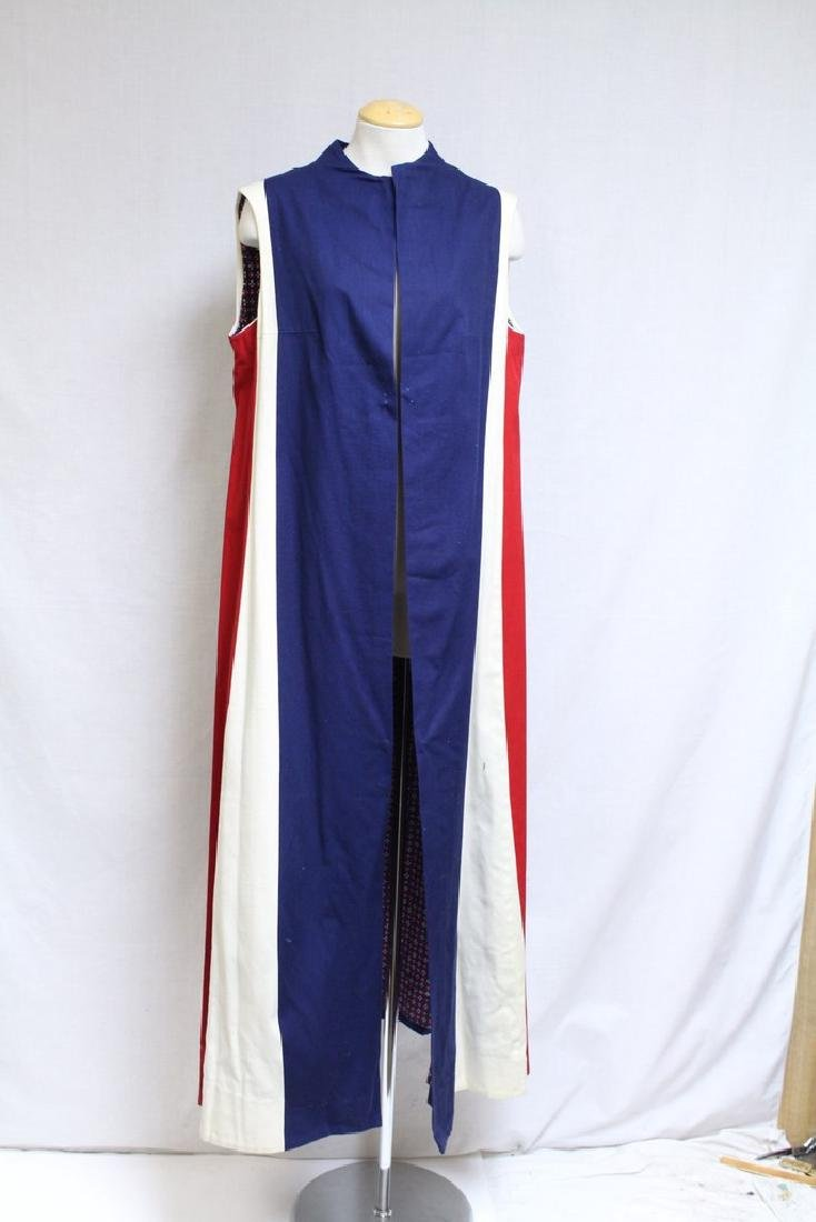 Vintage 1970's Red/White/Blue Duster Vest