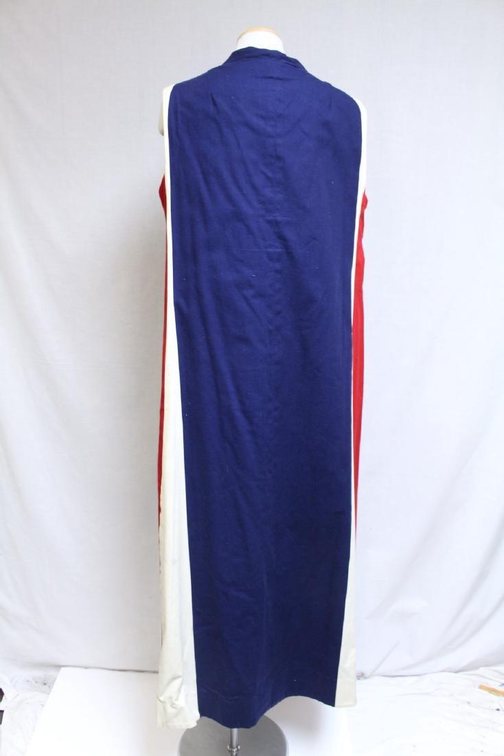 Vintage 1970's Red/White/Blue Duster Vest - 4