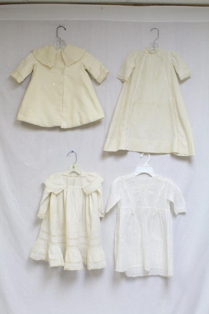 Antique Lot of 4 Girls Dresses