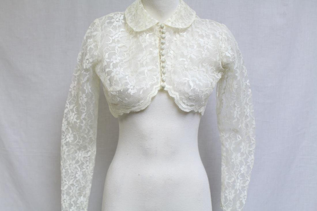 Vintage 1960s Lace Bolero