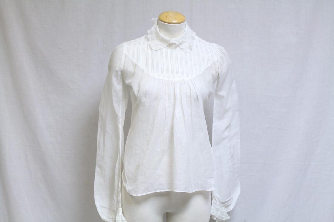 Antique Victorian White Blouse