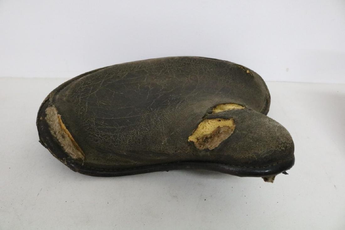 Early Motorcycle seat