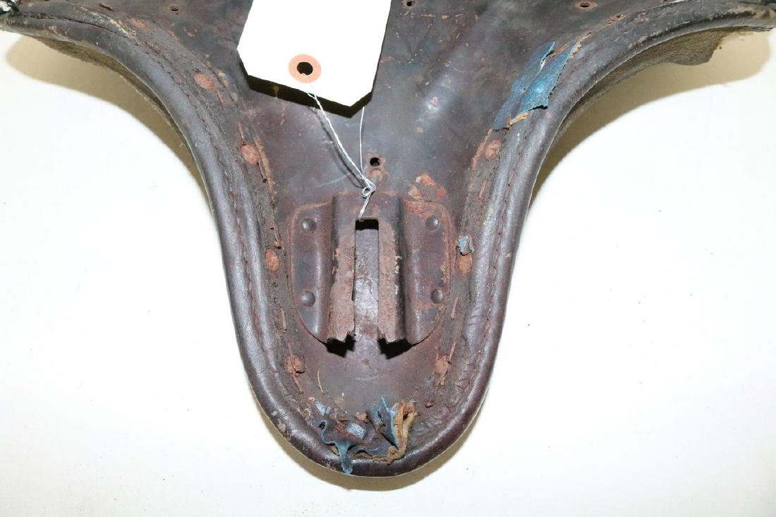 Early Motorcycle seat - 5