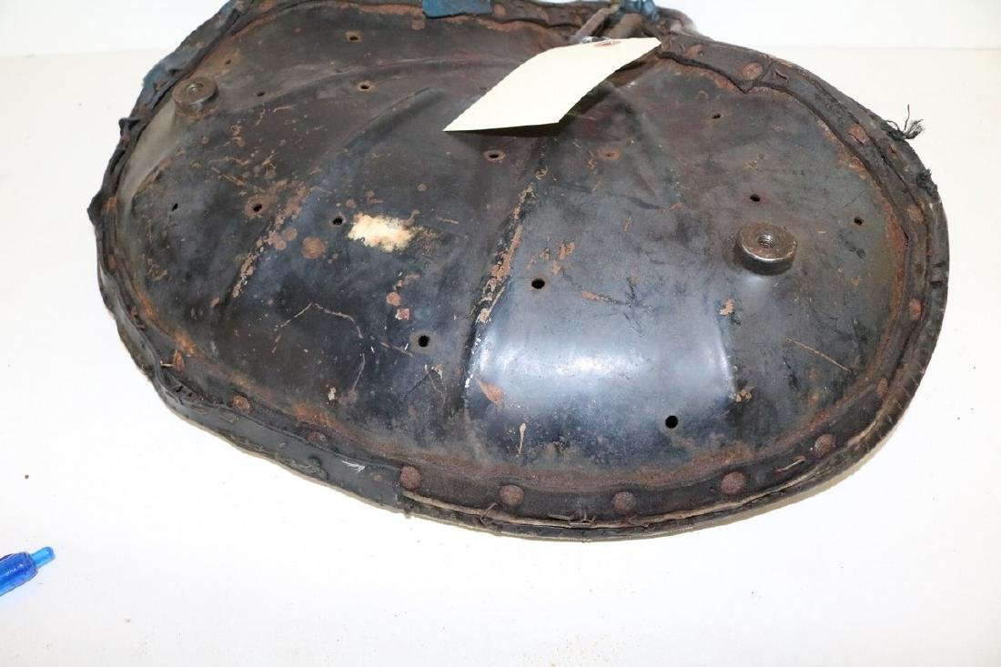 Early Motorcycle seat - 6
