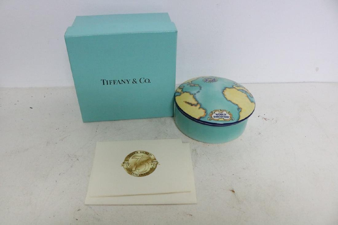 Tiffany & Co Tauck World Discovery Covered Dish
