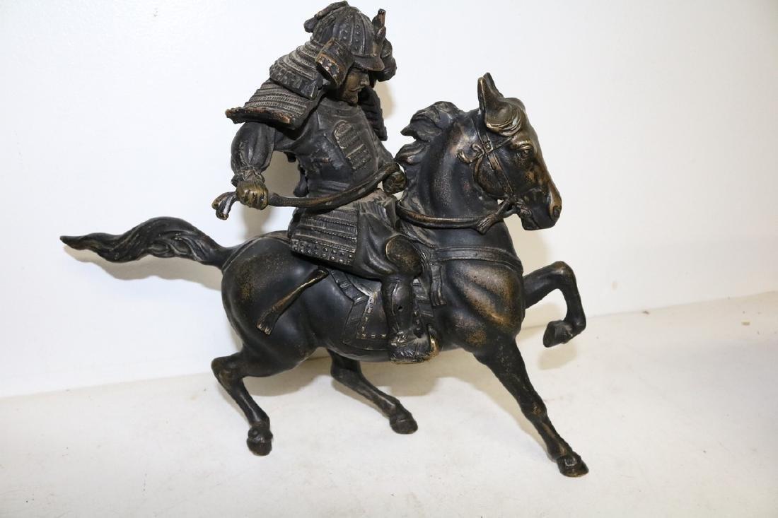 Bronze Horse & Warrior