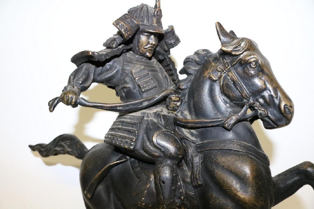 Bronze Horse & Warrior - 2