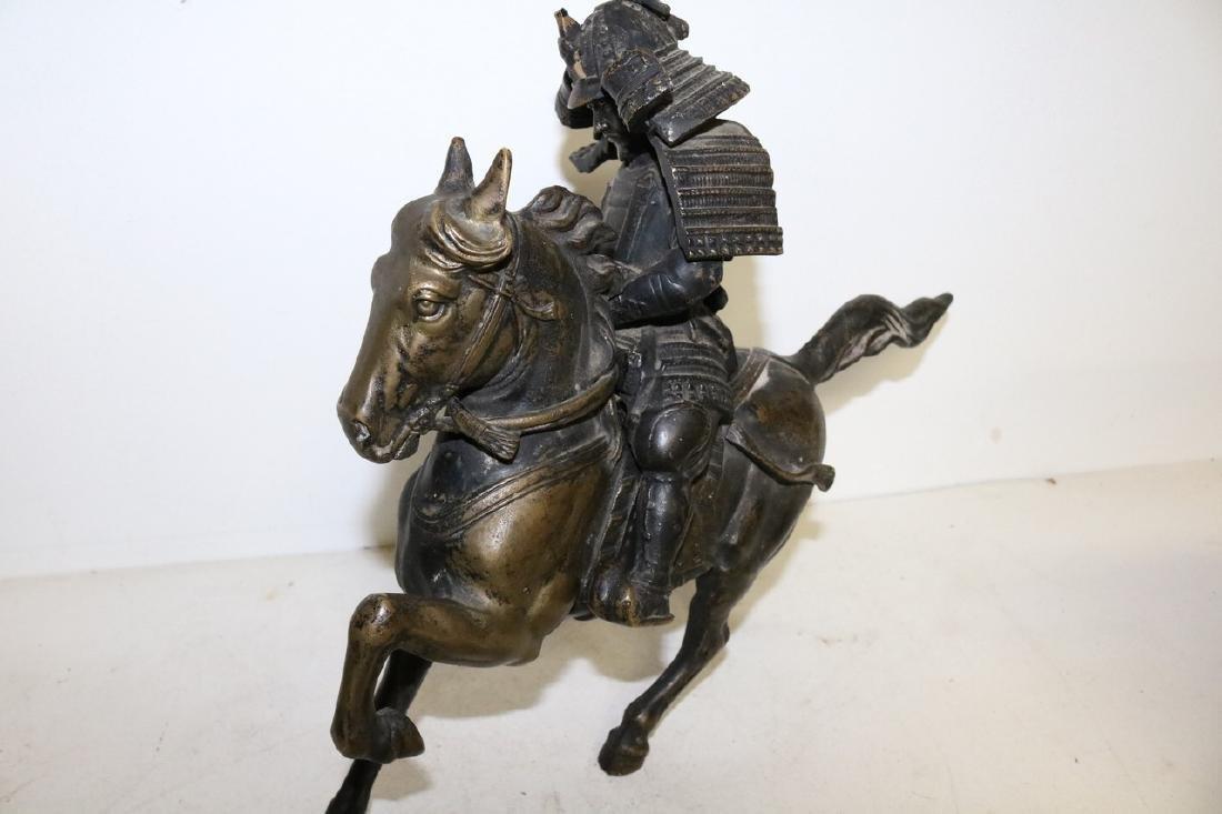 Bronze Horse & Warrior - 4