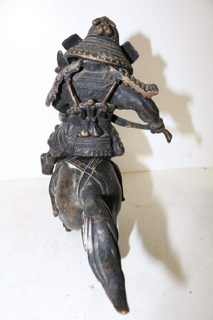 Bronze Horse & Warrior - 5