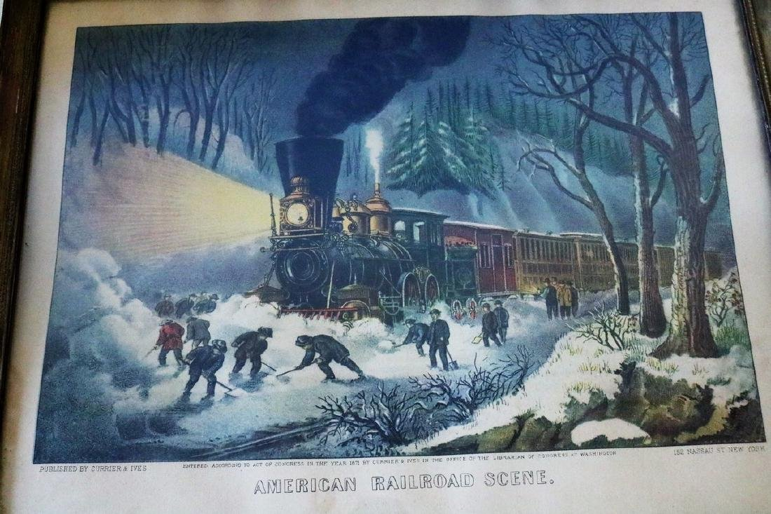 Currier & Ives, American RailRoad Scene - 2
