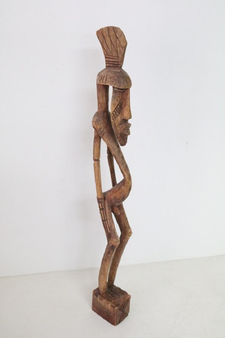 Carved Afracan Tribal Statue