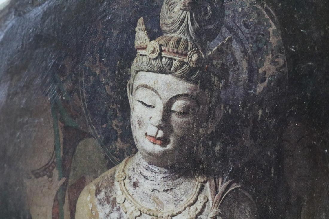 Buddist Painting on Rock - 2