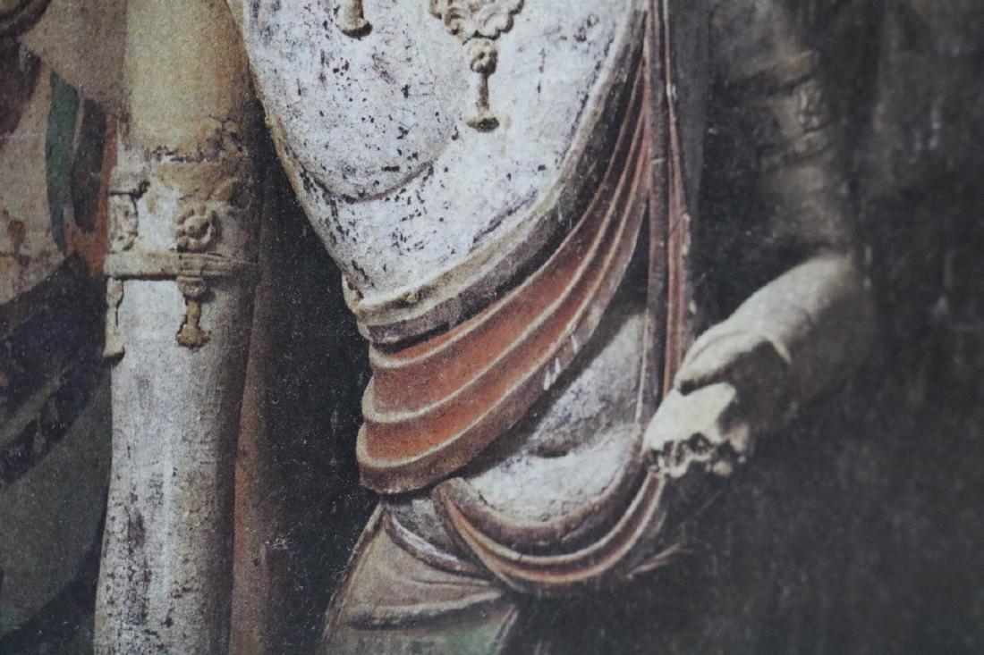 Buddist Painting on Rock - 3