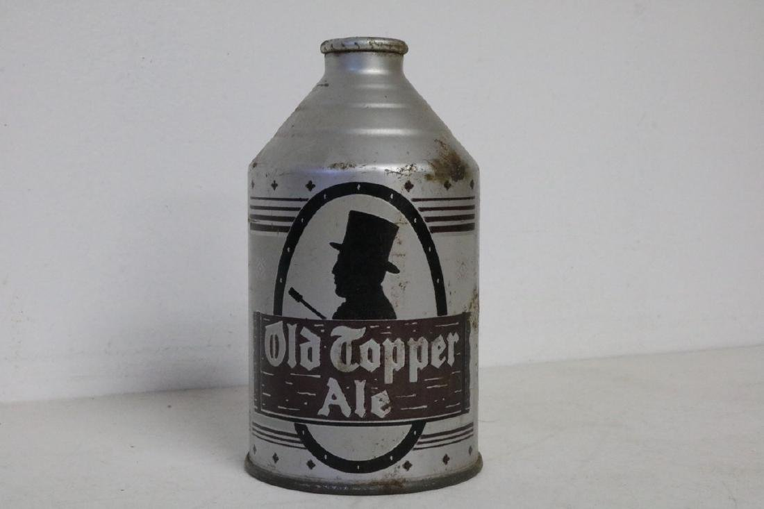 Antique Beer Can, Old Topper Ale