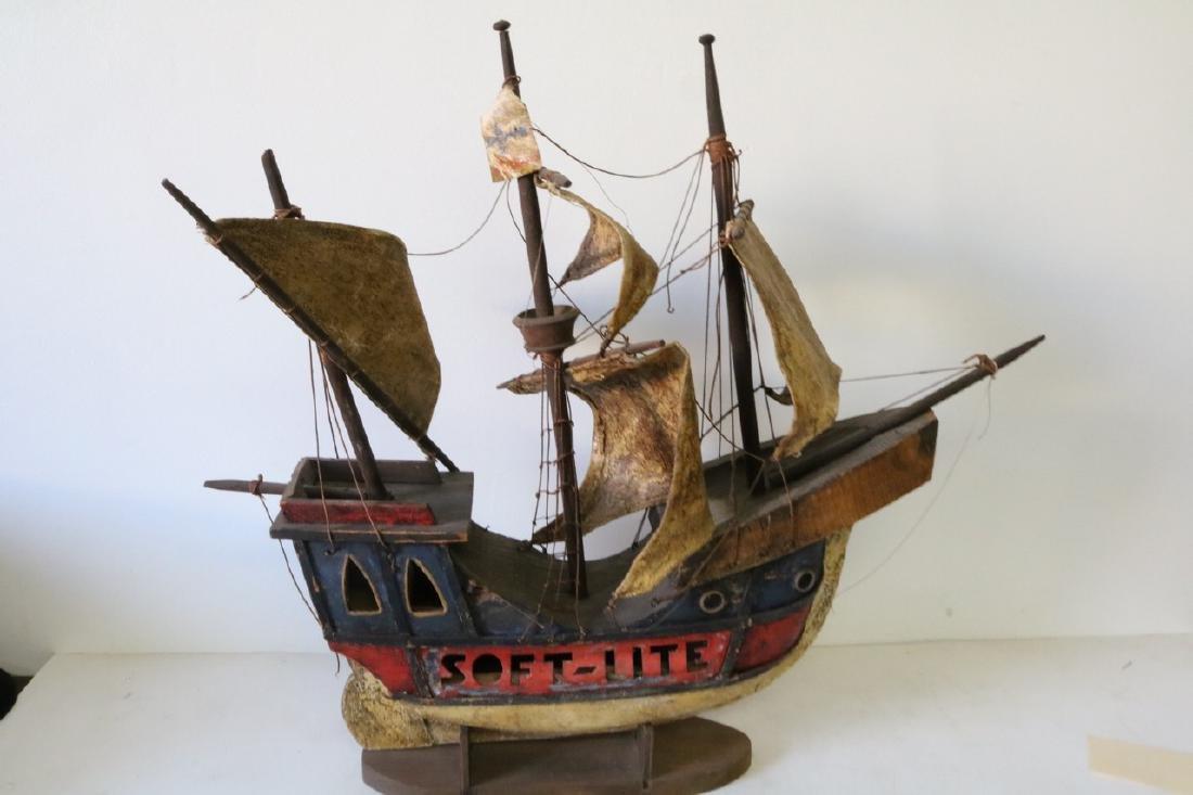 Antique Pirate Ship Model, Soft-Lite