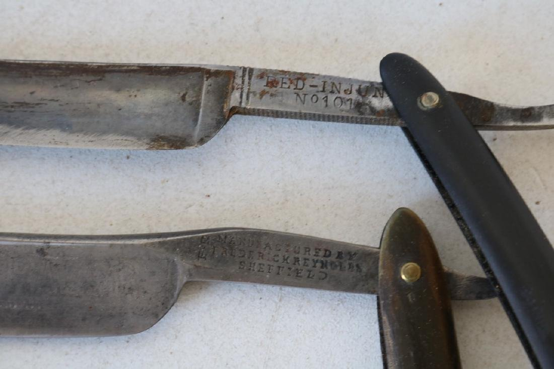Lot of 16 Antique Straight Edge Razors - 10