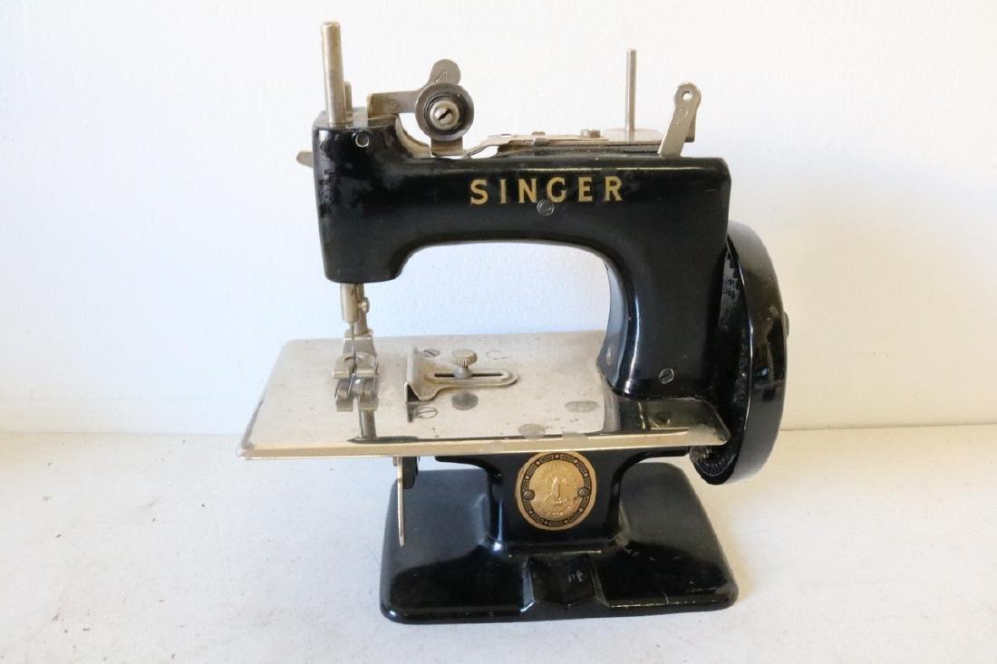 Antique Minature Singer Sewing Machine
