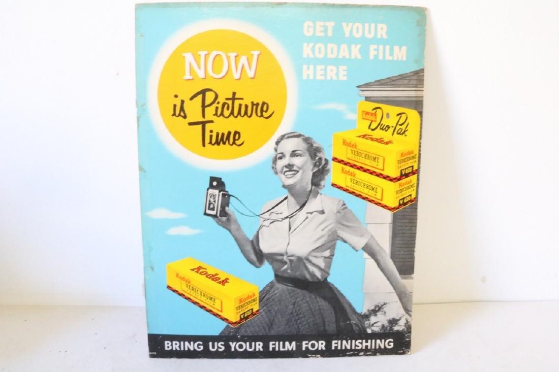 Kodak Advertising Sign 1950s