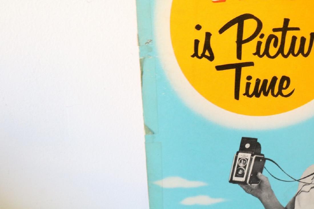 Kodak Advertising Sign 1950s - 4