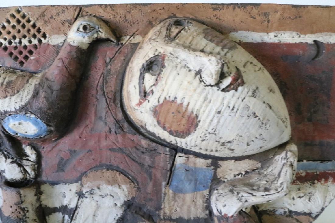 Clay Art/ Ceramic Relief Sculpture By Kenneth Dierck, - 2
