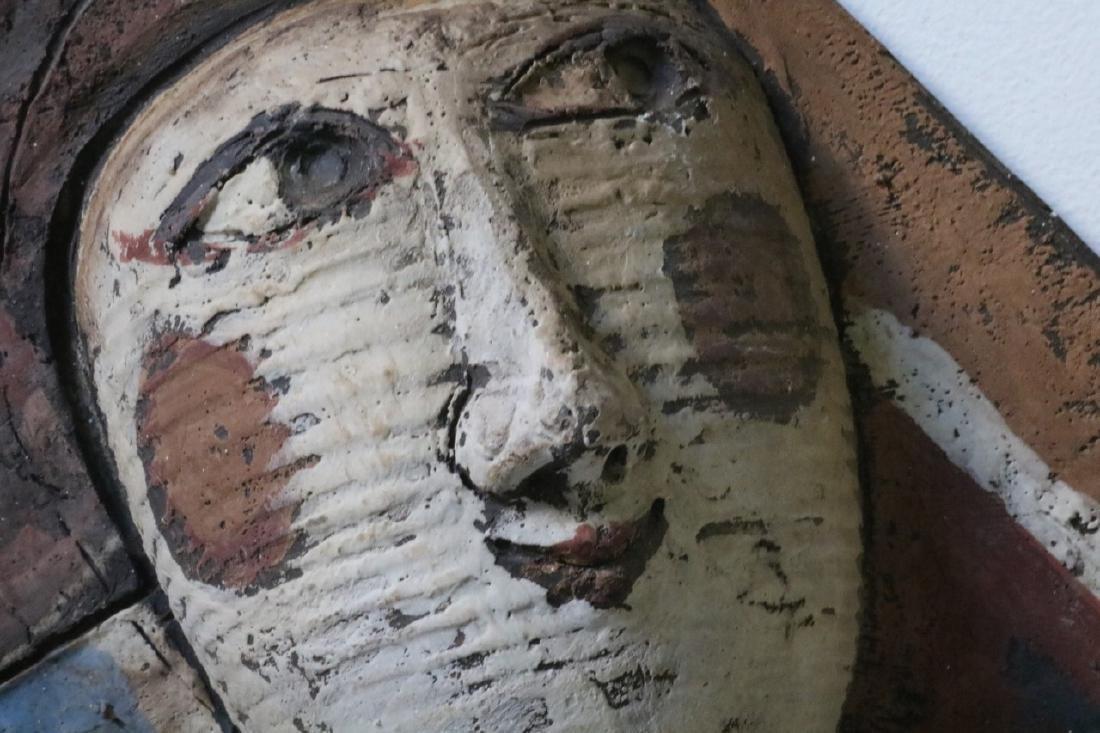 Clay Art/ Ceramic Relief Sculpture By Kenneth Dierck, - 5