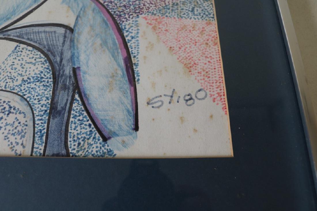 Mid Century Style Abstract Art - 3