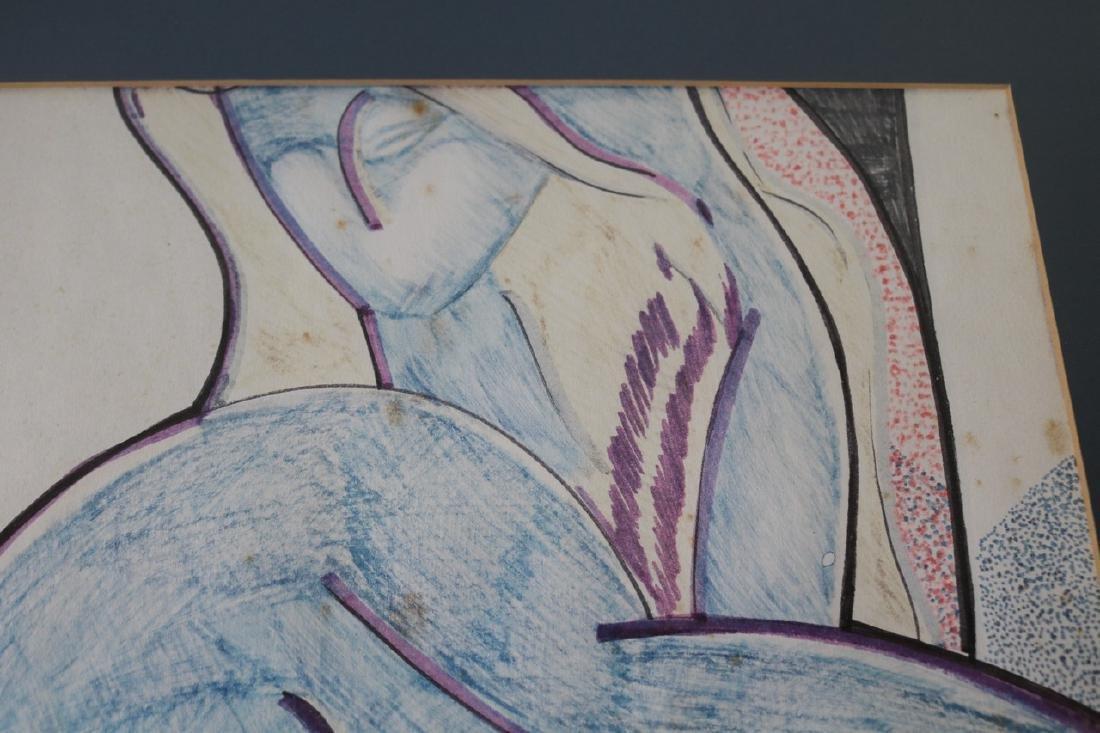 Mid Century Style Abstract Art - 4