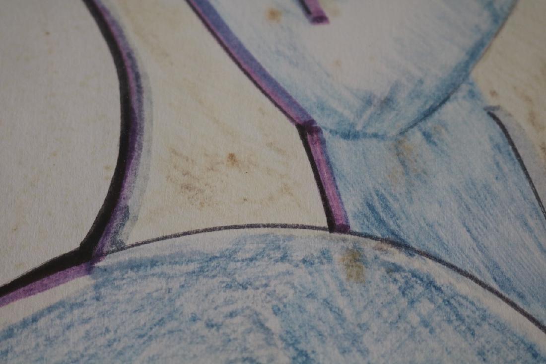 Mid Century Style Abstract Art - 5