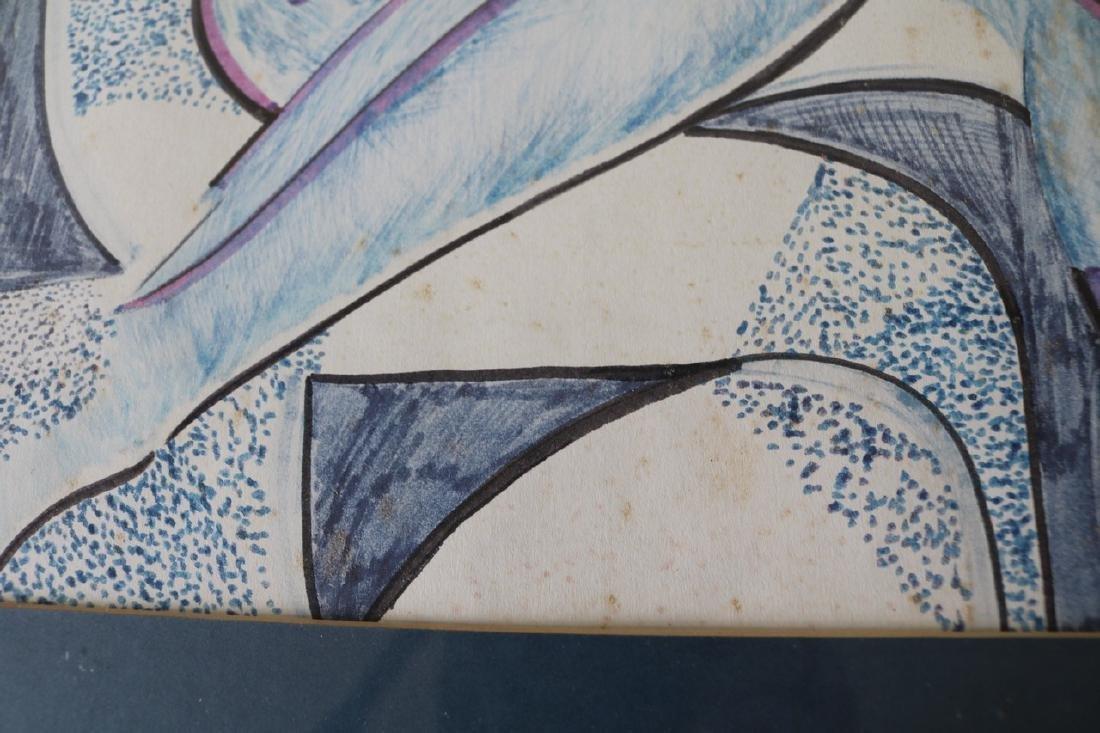 Mid Century Style Abstract Art - 6