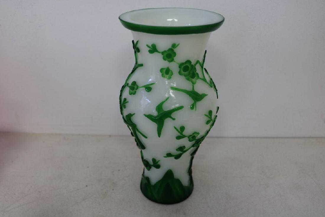 Peking Glass vase - 4