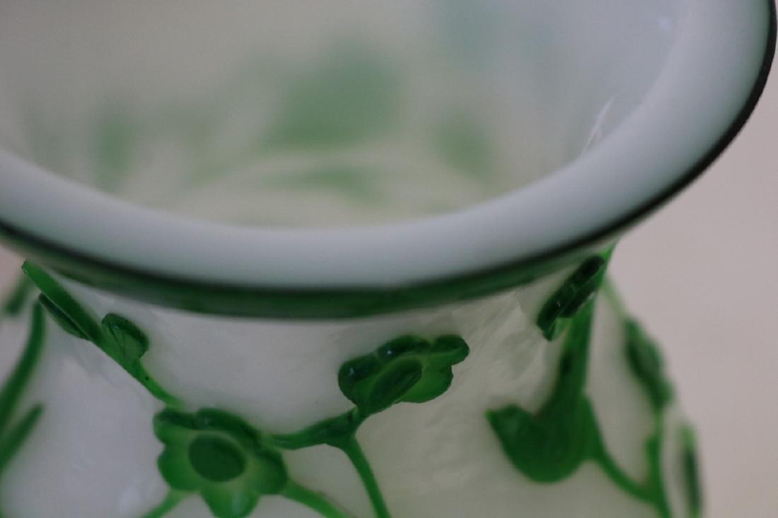 Peking Glass vase - 6