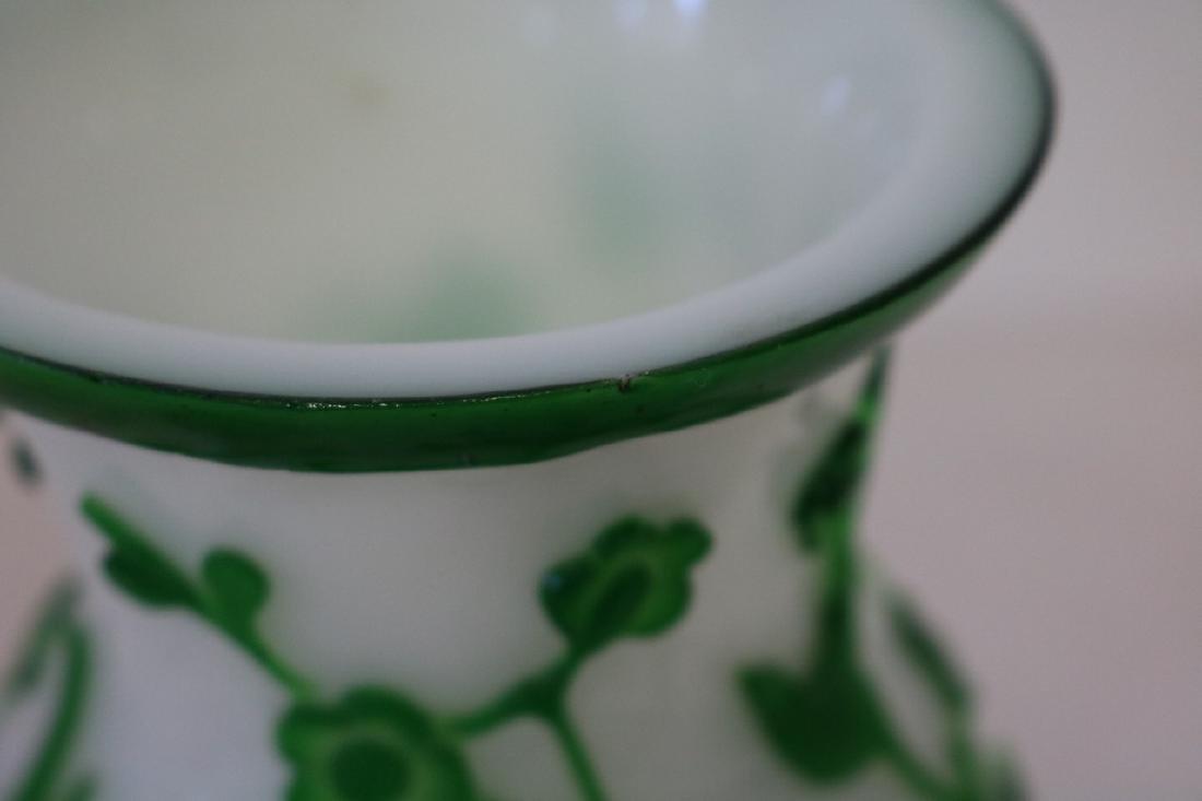 Peking Glass vase - 7