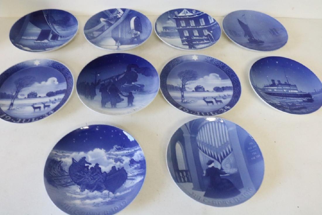 Lot of 10 Bing & Grøndahl Denmark Collector Plates