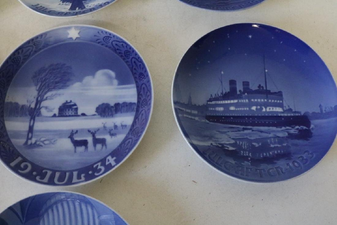 Lot of 10 Bing & Grøndahl Denmark Collector Plates - 7