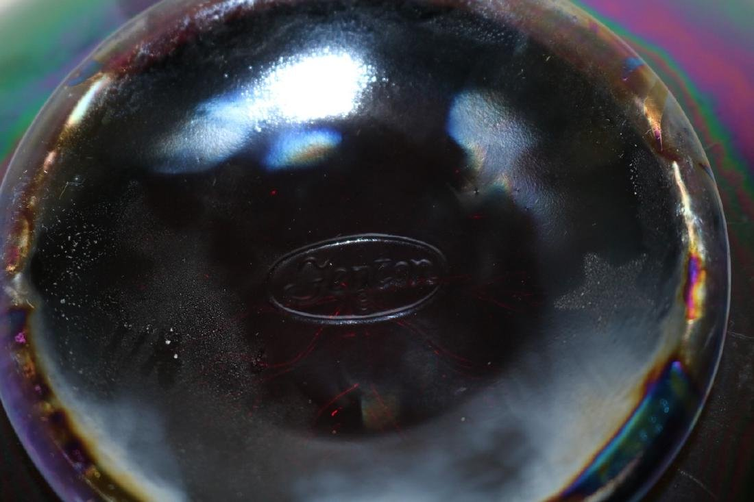 Fenton ruffled edge berry bowl with ruffled edge - 5
