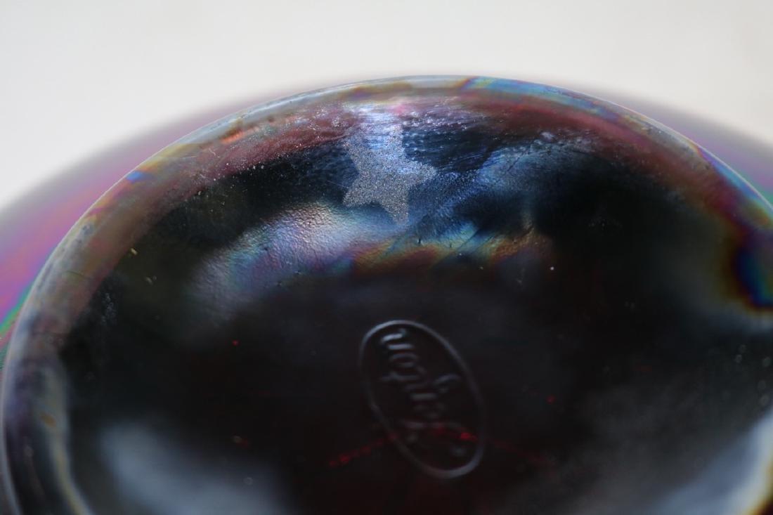 Fenton ruffled edge berry bowl with ruffled edge - 6