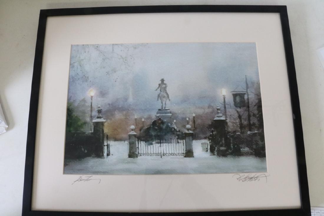 Watercolor Paul Revere ? Statue