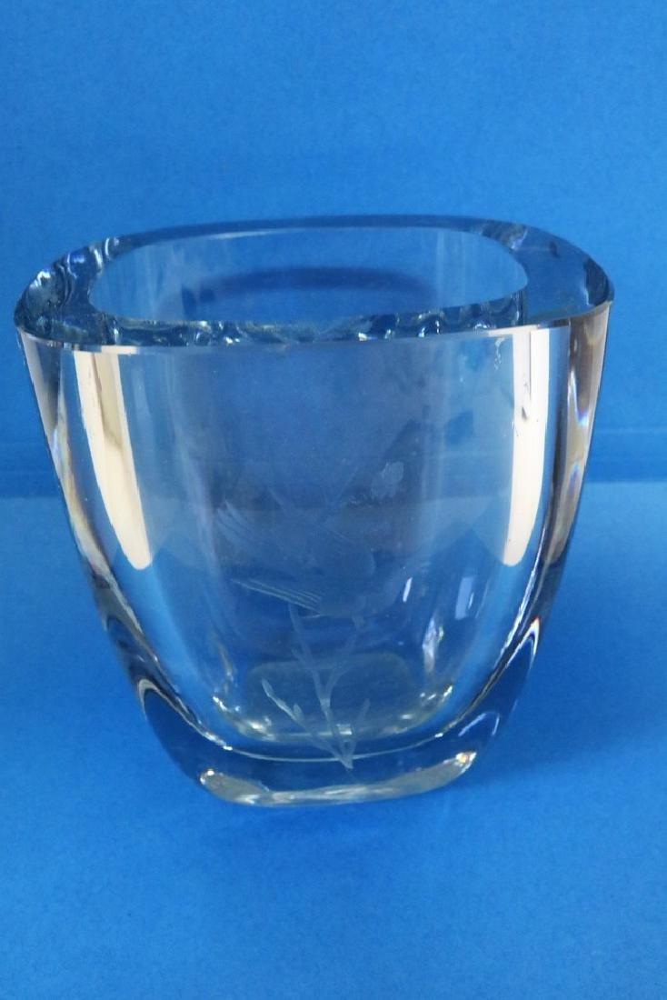 Crystal Art Glass Vase