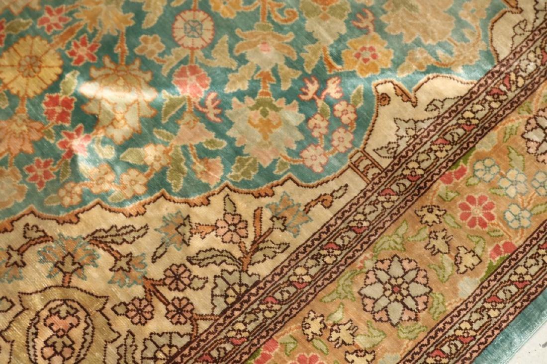 Silk Persian Carpet - 4